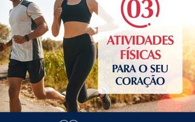 3 Atividades físicas para o seu coração